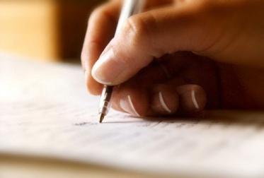 menulis
