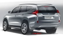 2015-Mitsubishi-Pajero-Sport-rear-three-quarter-rendering