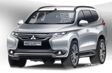 All-New-Mitsubishi-Pajero-Sport-2016-Sketch