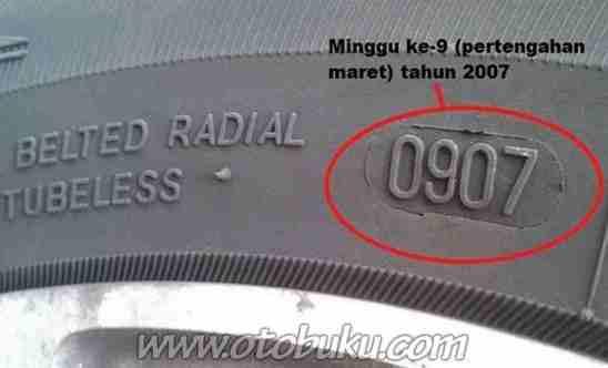 Image result for kode produksi ban motor
